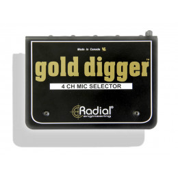 Radial Gold Digger (MS4) Селектор микрофонного сигнала