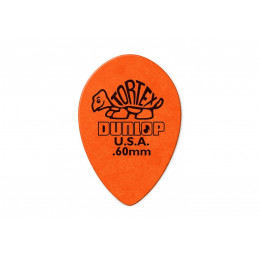 Dunlop 423R.60 Tortex Small Tear Drop Медиатор