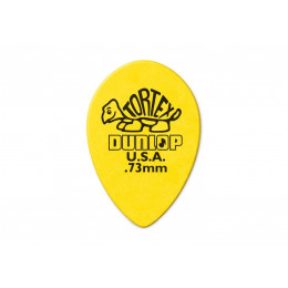 Dunlop 423R.73 Tortex Small Tear Drop Медиатор