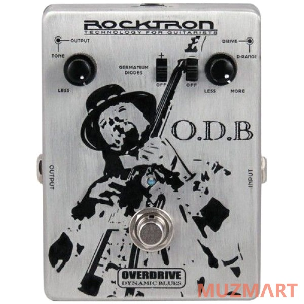 Педаль эффектов OVERDRIVE Rocktron O. D. B. Overdrive Dynamic Blues