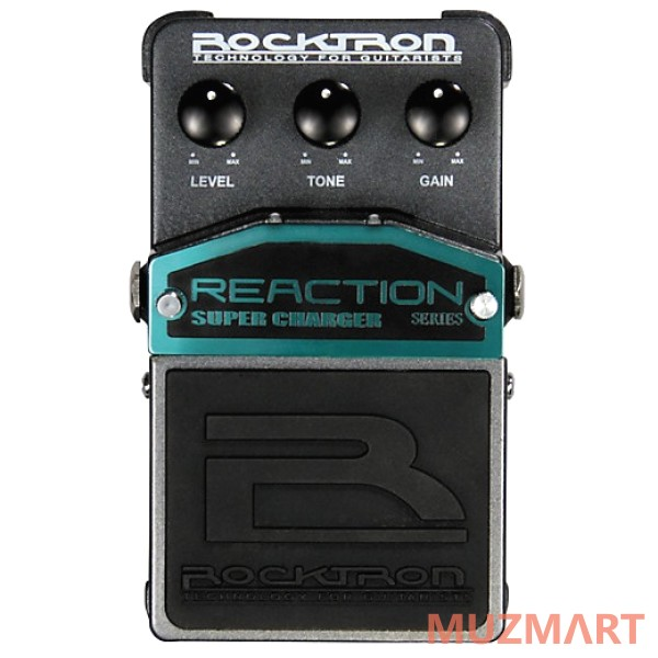 Педаль овердрайв Rocktron Reaction Super Charger