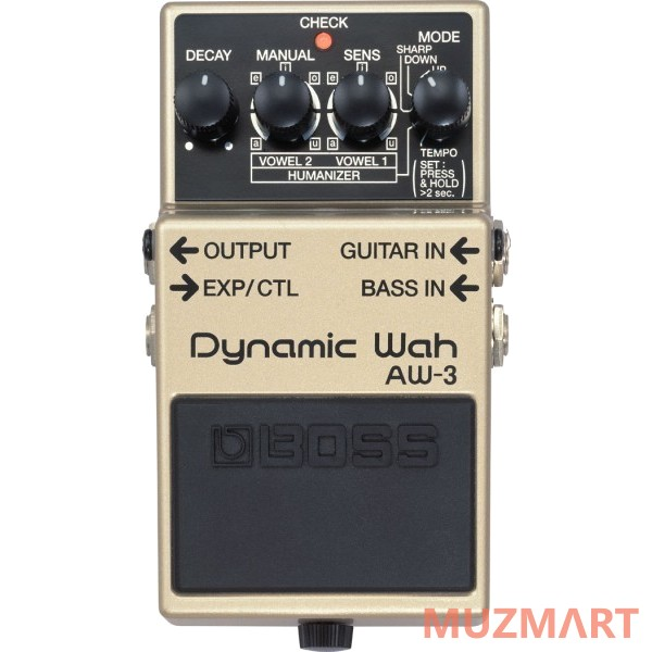 Педаль для электрогитары Wah Boss AW-3 Dynamic Wah