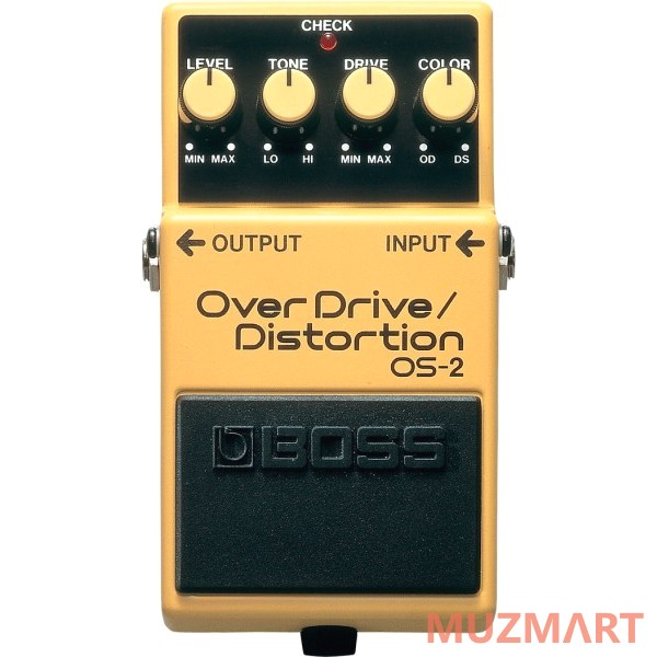 Педаль для электрогитары Boss OS-2 OVERDRIVE/DISTORTION