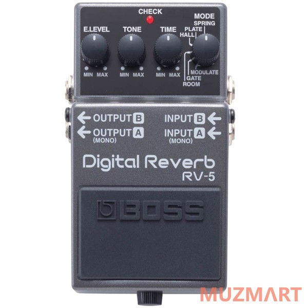 Педаль для электрогитары Reverb Boss RV-5 Digital Reverb