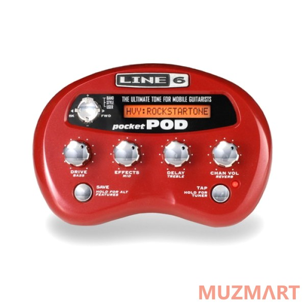 Гитарный процессор Line 6 Pocket Pod Direct Guitar Preamp