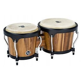 "Latin Percussion LPA601-SW Aspire Wood Bongos Jamjuree 6 3/4""- 8"" комплект бонго"
