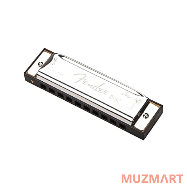 Губная гармоника Fender BLUES DELUXE HARMONICA, KEY OF G