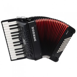 Hohner The New Bravo II 48 (A16521) Black Аккордеон 1/2