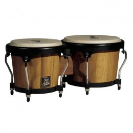 Latin Percussion LPA601-DW Aspire Wood Bongos Dark Wood/Chrome комплект бонго